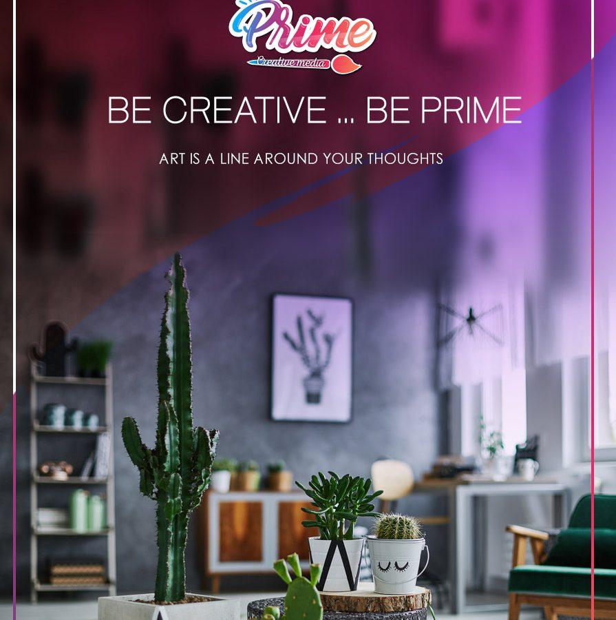 Be Creative…