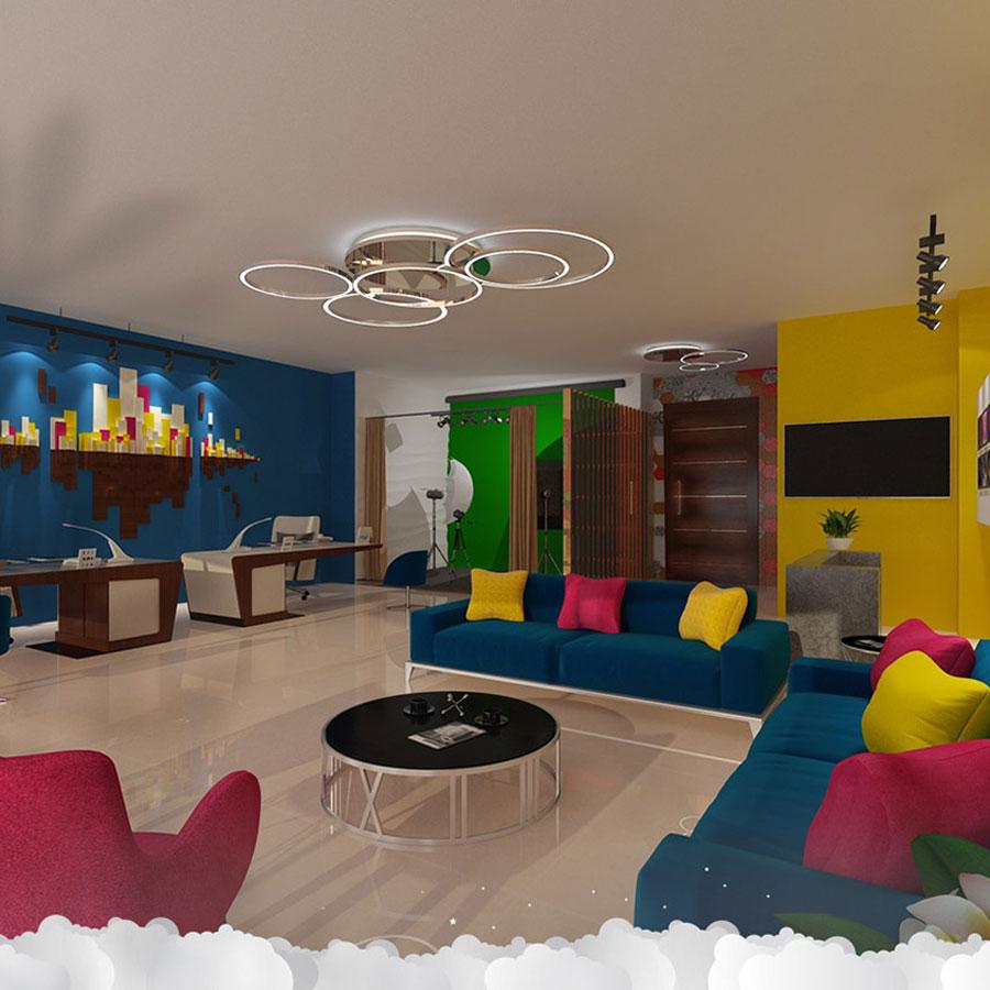Creative 3D Office